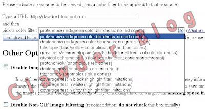 opciones de colorblind