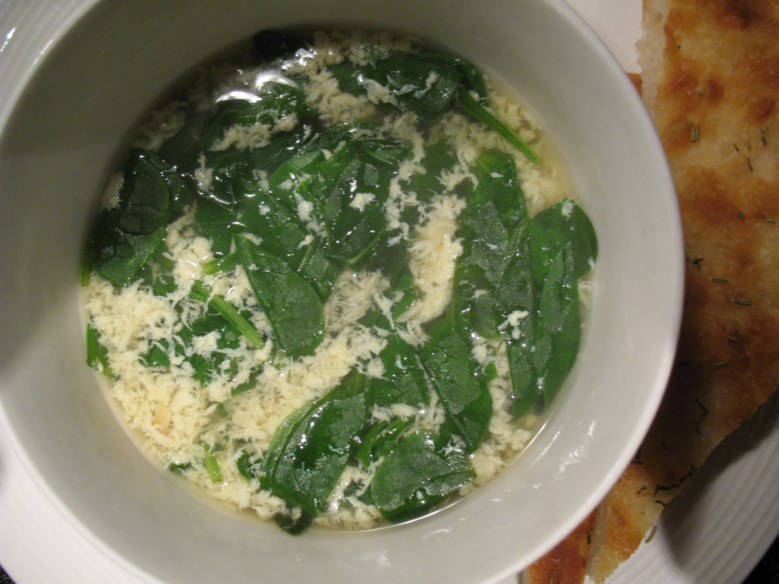 Anna's Table: Stracciatella Soup( Egg Drop Soup)