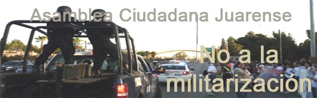 Asamblea no a la militarización
