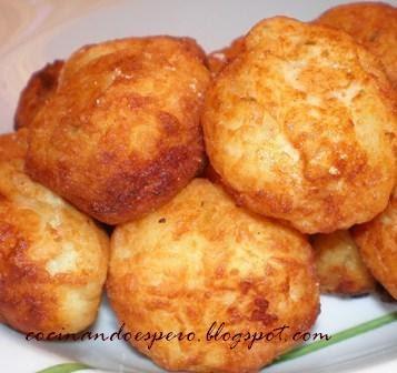 Cocinando espero alb ndigas de patata y bacalao - Albondigas de patata ...