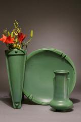 Wall-Pocket,Platter,Narrow-Neck-Vase