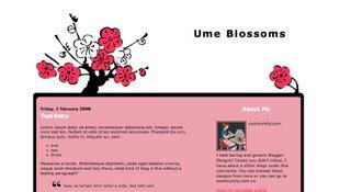 Redbloodsnow's Stuffs - Ume Blossom Template
