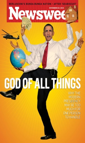 newsweek cover obama. Why is Obama on the Cover of