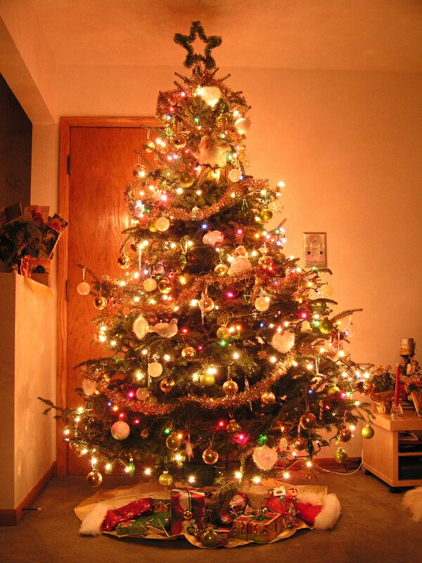 beautiful christmas tree