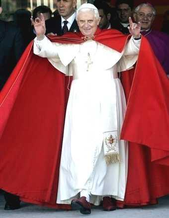 pope satan chair