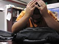 persona con estres laboral