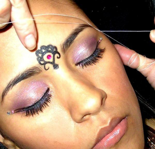 eyebrow tattoo temporary make up courses