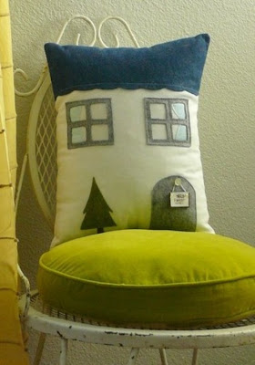 1928 Forest Trail - House Pillow