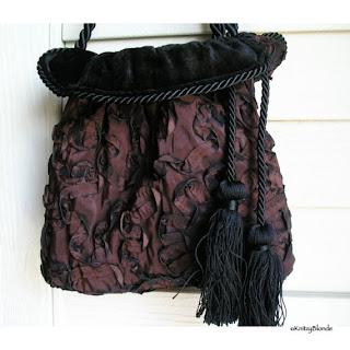 Vintage Style Reversible Handbag