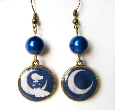 In The Moonlight - earrings