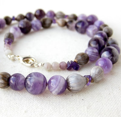 Amethyst Tears Necklace