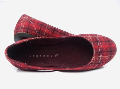 ECO FRIENDLY VEGAN FABRIC FLAT SHOES