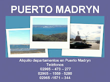 ALOJAMIENTOS EN PUERTO  MADRYN