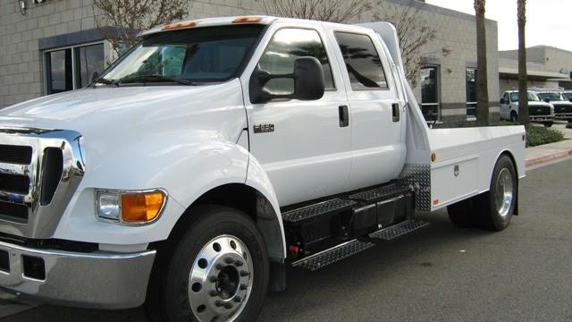 Crew Cab Vans >> Auto Spot: F650 CAR HAULER CREW CAB