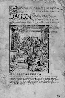 Necronomicon de Vhallennes, Dagon page