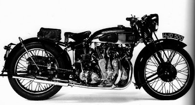 1939, Vincent-HRD 998cc Series-A Rapide
