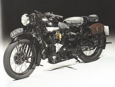 1934, Brough Superior 996cc SS100
