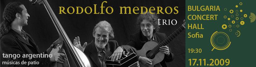 Rodolfo Mederos live in Sofia