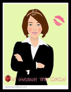 :: 1st Giveaway Tinie (zon2u) ::