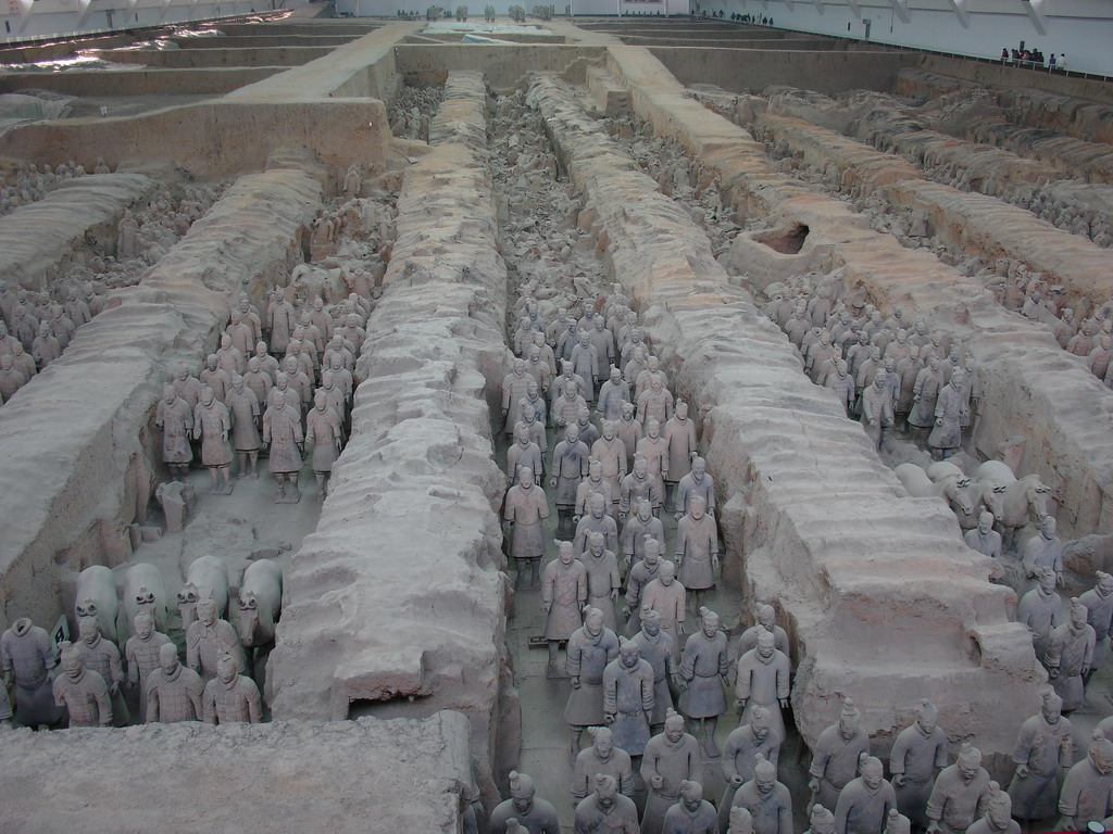 Qin Dynasty Artifacts Paradise China: Famous...