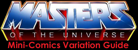 Masters Of The Universe Mini-Comics Variant Guide
