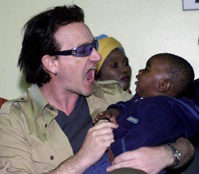 Bono as Brangelina