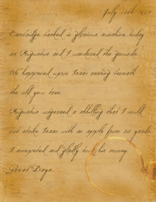 Leibiz's Diary Entry