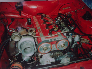Drag Car Engine