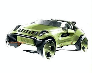 Jeep Storm Detroit Renegade Hybrid Concept