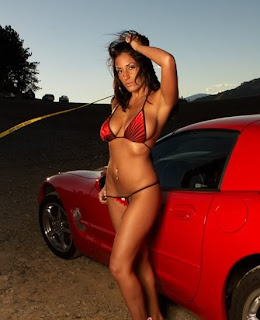 Car and beautifull Girl
