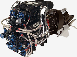Racing Car Engine High Performance
