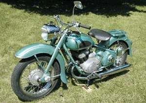 Adler M200 classic bike