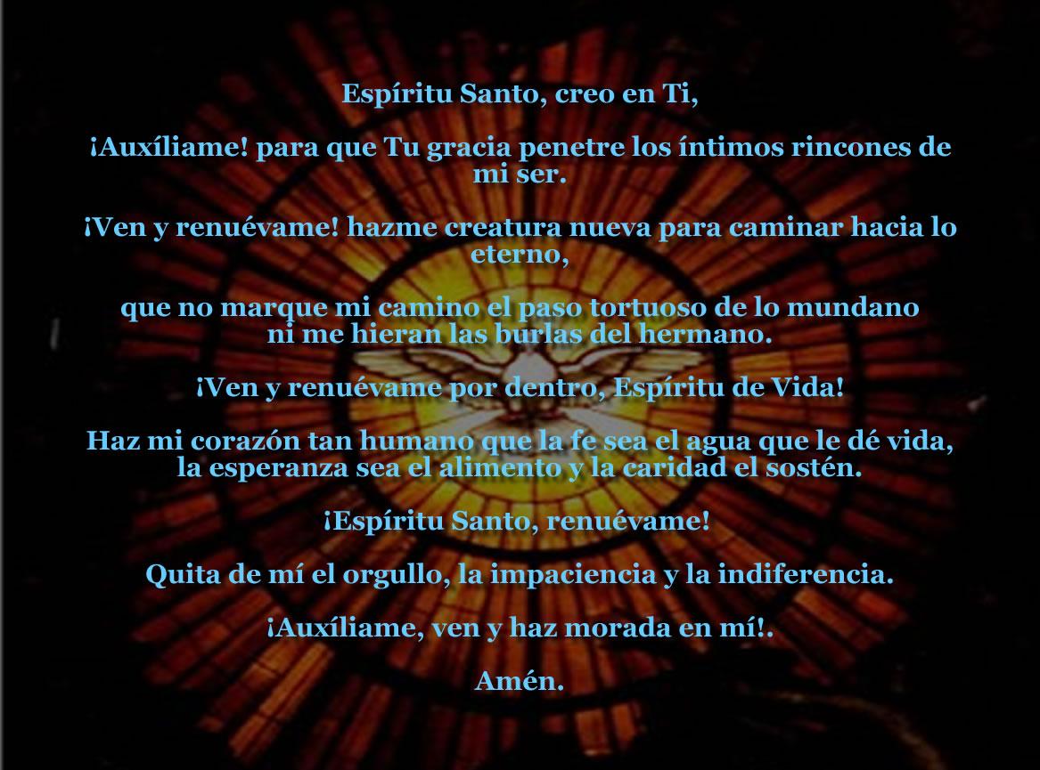 Oraciones milagrosas al espiritu santo http yotudiostellama blogspot