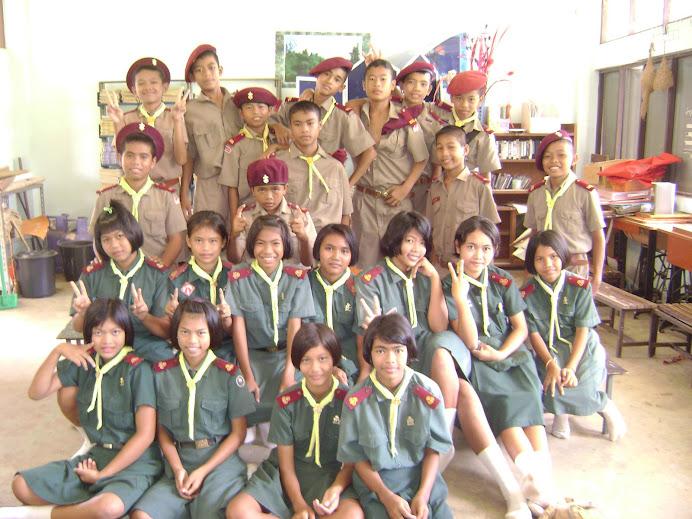 นักเรียน ม.1 มาเรียนในห้องวัฒนธรรมไทย