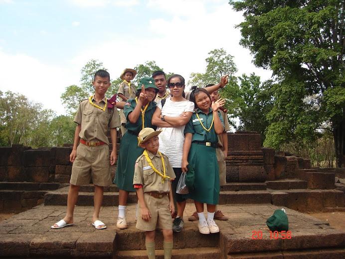 การทัศนศึกษาที่ปราสาทเมืองสิงห์ กาญจนบุรี