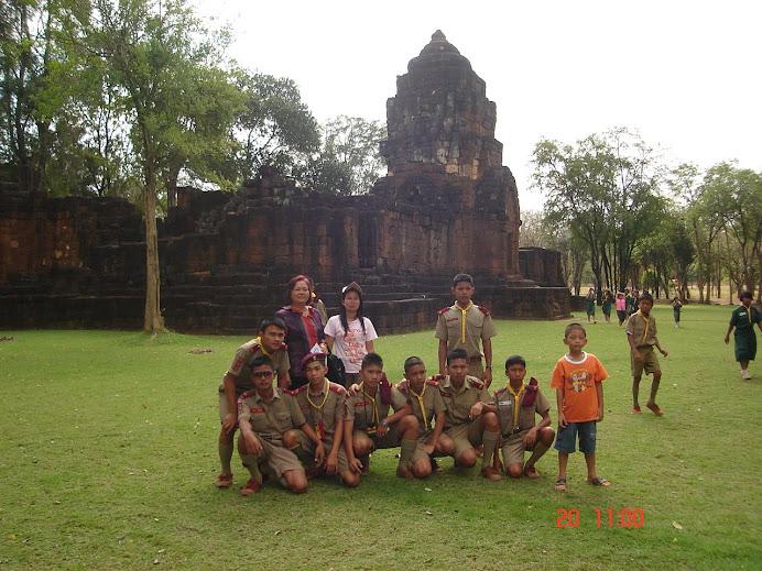การทัศนศึกษาที่กาญจนบุรี