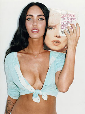 megan fox tattoos marilyn monroe. megan fox tattoos marilyn.