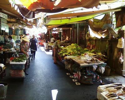 鎮北坊古蹟鴨母寮菜市場