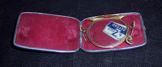 z fold Oxford pince nez case