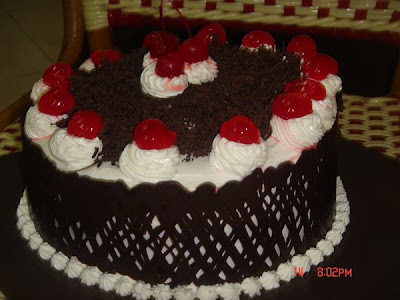 black forest for my friend Wuri...