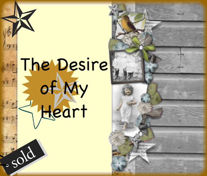 The Desire Of My Heart