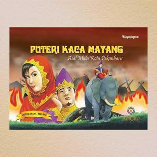 Sejarah Pekanbaru, Versi Cerita Rakyat