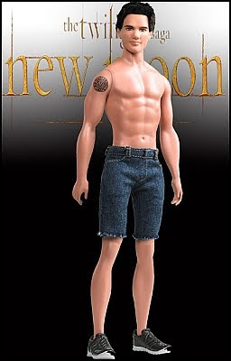 Barbie The Twilight Saga New Moon Jacob doll