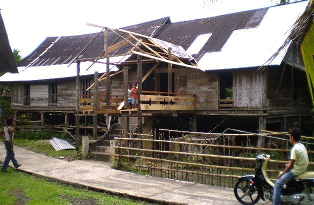 Rumah Godang di Koto Gunung