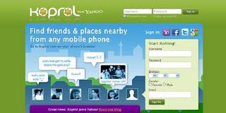 Yahoo shares acquisition 'Koprol.com'