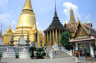 Bangkok, the Mixture of Modern and Ancient Culture