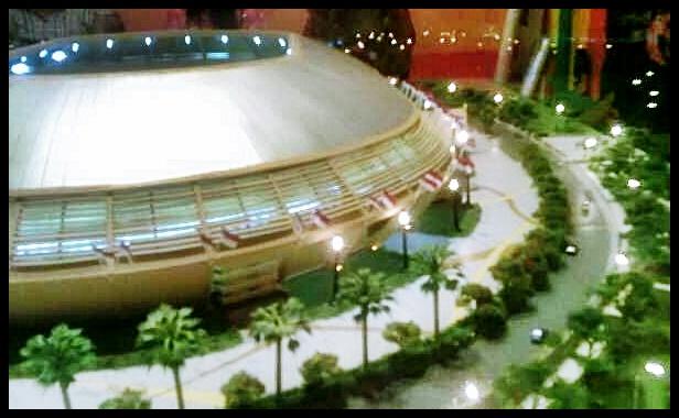 Main Stadium PON Riau 2012