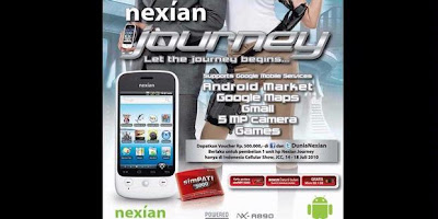 Nexian Journey, Challenger Local Android