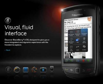 Spesifikasi BlackBerry Torch 9800