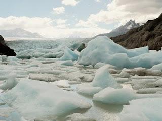 Kutub Utara Mencair, Pulau Es Meleleh